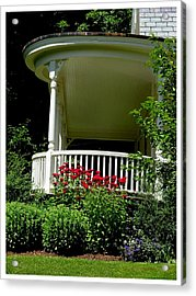 Front Porch Of Millers House Acrylic Print by Frank Wickham