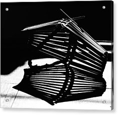 Fruit Basket Acrylic Print by Susan Capuano