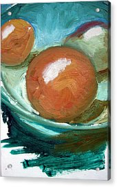 Fruit Bowl Acrylic Print by Robert Bruce