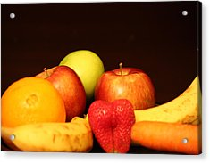 Fruit Dreams After Mid-night Acrylic Print by Andrea Nicosia