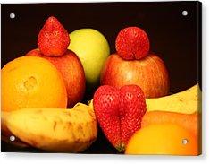 Fruit Dreams Before Daybreak Acrylic Print by Andrea Nicosia