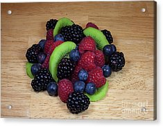 Fruit Mixture 2 Acrylic Print by Michael Waters