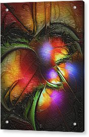 Fruit Of The Forest Acrylic Print by Amanda Moore