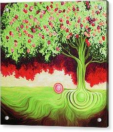 Fruit Tree Acrylic Print