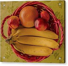 Fruits Acrylic Print by John Nasir
