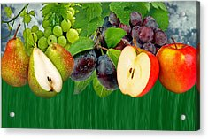 Fruits Acrylic Print by Manfred Lutzius