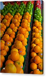 Fruits Acrylic Print by Mike Horvath