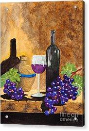 Fruits Of The Vine Acrylic Print by Kimberlee Weisker