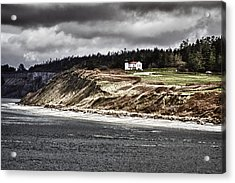 Ft Casey Lighthouse Acrylic Print