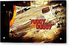Fuddy Duddy Acrylic Print