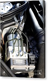 Fuel Injection System Acrylic Print by Photo Researchers
