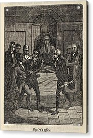 Fugitive Slave Henry Bibb Appears Acrylic Print by Everett