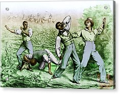 Fugitive Slave Law Acrylic Print by Photo Researchers