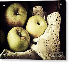 Fuji Apples Acrylic Print
