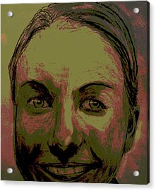 Full Hart Acrylic Print by Bradley   Howell