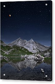 Full Moon To Giants Acrylic Print by © Yannick Lefevre - Photography