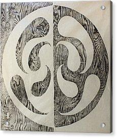 Full Swing Yin Yang Acrylic Print