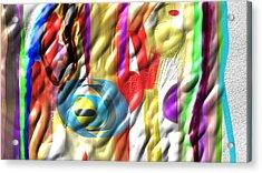 Fullmix Acrylic Print by Rosana Ortiz