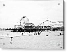 Fun At The Beach Acrylic Print by Scott Pellegrin