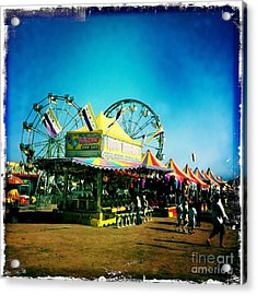 Acrylic Print featuring the photograph Fun At The Fair by Nina Prommer
