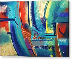 FUN Acrylic Print by Marie-Claire Dole