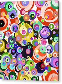 Fun Time Acrylic Print by Janpen Sherwood