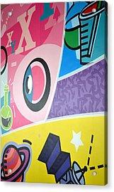 Fun Wall Acrylic Print by Ku Azhar Ku Saud