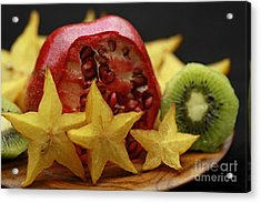 Fun With Fruit Acrylic Print by Inspired Nature Photography Fine Art Photography