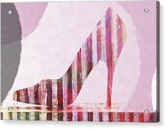 Funky Shoe Acrylic Print by David Ridley