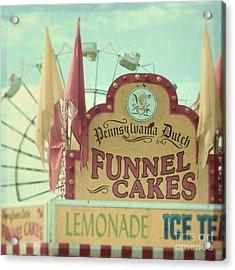 Funnel Cakes Acrylic Print