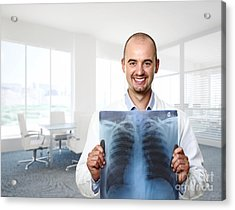 Funny Doctor Acrylic Print