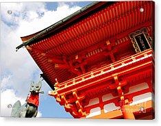 Fushimi Inari Shrine I Acrylic Print by Dean Harte