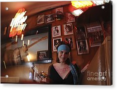 Acrylic Print featuring the photograph Future Fame by Sherry Davis