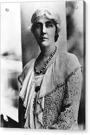 Future First Lady Lou Henry Hoover Acrylic Print by Everett