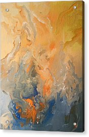 Acrylic Print featuring the painting Future Hope by Raymond Doward