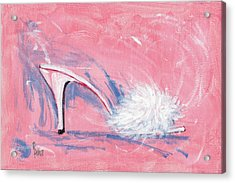 Fuzzy Comfort Acrylic Print by Richard De Wolfe