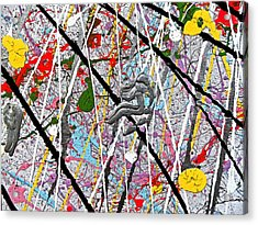 Fyr Art Work 7 Acrylic Print by Cyryn Fyrcyd