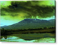 Acrylic Print featuring the photograph G-d Is Watching You by Itzhak Richter