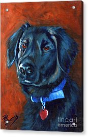 Acrylic Print featuring the painting Gabby by Pat Burns