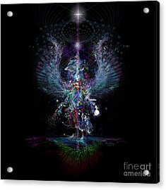 Gaia Birthing New Earth Acrylic Print