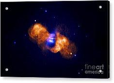 Galaxy Collision Acrylic Print by Nasa