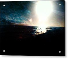 Galaxy Sunset Acrylic Print