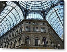 Galleria Umberto 1 Acrylic Print by Terence Davis
