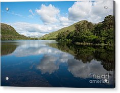 Galway Reflections Acrylic Print by Andrew  Michael