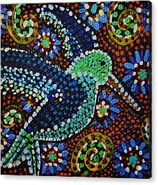 Gamas Humming Bird Acrylic Print