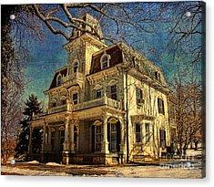 Gambrill Mansion Acrylic Print by Lianne Schneider
