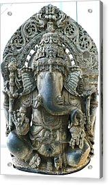 Ganesha Acrylic Print by James Mancini Heath