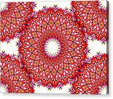 Ganika No.1 Acrylic Print by Danny Lally