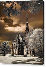 Garden City Cathedral Acrylic Print