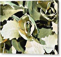 Garden Greens Acrylic Print
